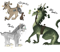 Random Adoptables *CLOSED* by cobu96