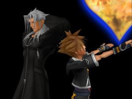 Personality Switch - Xemnas and Sora by xemnas-reshiram-fan