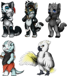 [furvilla] painties! by Etkri