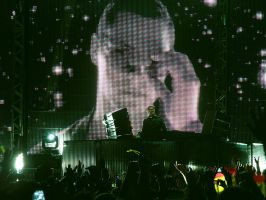 Tiesto's show in Bolivia v4 by zentenophotography