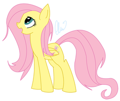 Fluttershy~ by ClairClairSky