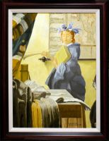 Vermeer Edges And Glazing by Daniel-Storm