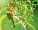 Palmon Tri: Photosynthesis by bsmit93