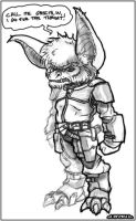 .: Sketchiness - furry doom :. by RobertFriis