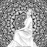 Mandala Lady by WelshPixie