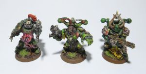 Plague Marines [5] by MetalOxide-Creations