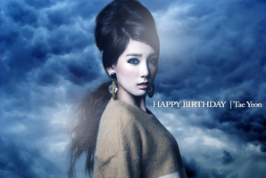 Tae Yeon (Girls' Generation/SNSD) ~Happy Birthday~ by ShimSungHyo