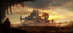 Fantasy Castle by Madytao