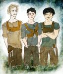 Gladers to the core by TheSearchingEyes