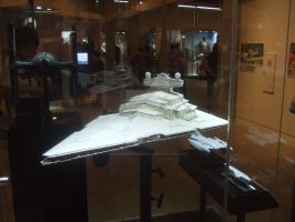 Imperial Star Destroyer by stopsigndrawer81
