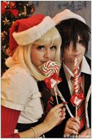 Ao No Exorcist: Happy Holidays by CosplayerWithCamera