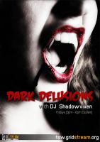 Dark Delusions - Show Poster (Variant 1) by Lykeios-UK