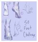 50 Foot Challenge by sugar-hype99