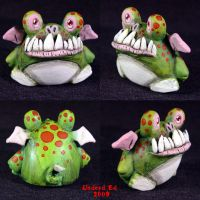 Chibi Dragon toy Ooak by Undead-Art