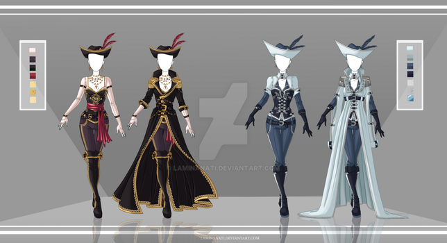 Adoptable Outfit Auction 42-43(closed) by LaminaNati