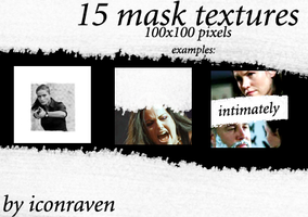 15 mask textures by iconxraven