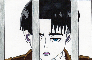 Captain Levi Ackerman by tabby25