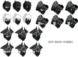 Abyssal Accessories 2 by XionicDXelt