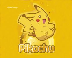 Pikachu Wallpaper by DivineLarceny