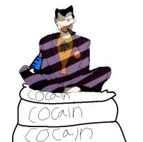 Joker The Drug Addict by bettybop920