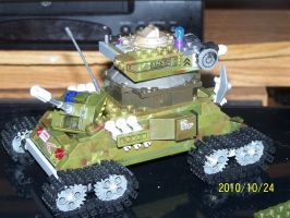 UNSC Bonaparte Raccoon Tank 04 by coonk9