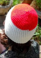 Hetalia Japan inspired crochet hat by YarnAlchemy