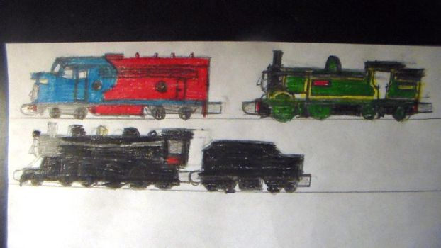 Take Along Drawing Requests 5 by TheMrtraintrack