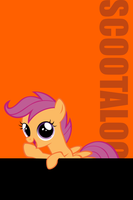 Scootaloo Ipod Wallpaper by daughterdragon