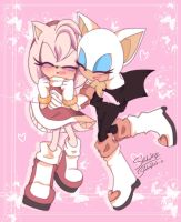 Amy and Rouge by 1412Shadow