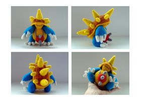League of legends: amigurumi Rammus by tinyAlchemy