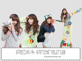 Pack 4 PNGs Eunji by MinhhNa