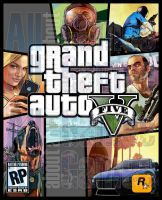 Grand Theft Auto V Cover Art[WIP](UPDATE 3) by eduard2009