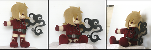 Blood Seras Plushie by sapphii