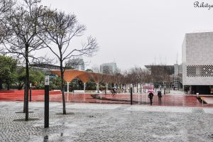 Dull day in Lisbon by Rikitza