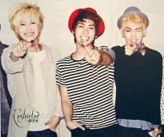 shinee 2012 calender _1 by limit73er