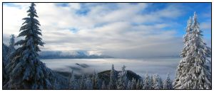 Up on the mountains by Valentin-Stanciu