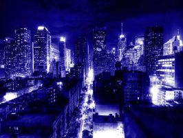 New York at night by Andy4U