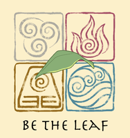 Be the Leaf tshirt by Psyoren