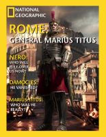 National Geographic Rome Magazine  Graphic Design  by PumpkinMunchkin