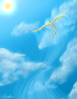 Touch the sky by dragonwolfgirl1234