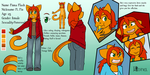 Fiona reference sheet by Sixala