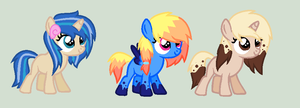 Filly themed OCs *OTA* CLOSED by iVui