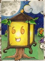 Aceo #53 [Happy Plantern] by Takuichi