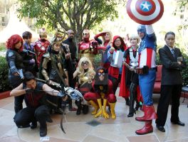 Avengers, Assemble! by AsharaPhotography