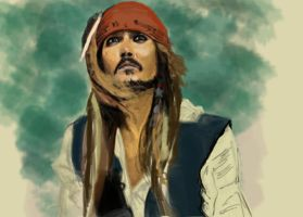 Captain Jack WIP by alwaysmeran