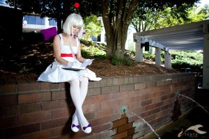 AWA 2011 - Final Fantasy | Moogle by elysiagriffin