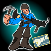 BLU Soldier by Hyperwave9000