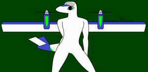 Anthro plane _ Twin Otter male by K4nK4n