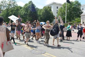 2015 Boston Pride Parade, Having A Gay Old Time 3 by Miss-Tbones