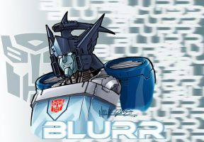 blurr study by markerguru